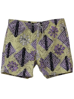 1990's Mens Totally 80s Style Shorts