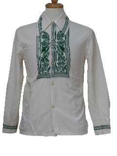 1970's Mens Cotton Shirt