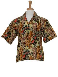 1960's Mens Island Shirt
