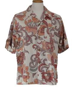1970's Mens Inside Out Shirt