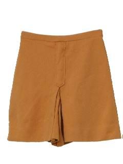 1970's Womens Skort Shorts