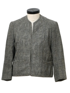 1950's Womens Mod Wool Jacket