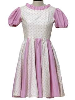 1950's Womens Square Dancing Dress