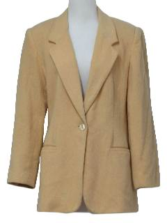 1970's Womens Wool Blazer Jacket