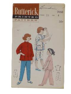 1950's Womens/Girls Sewing Pattern