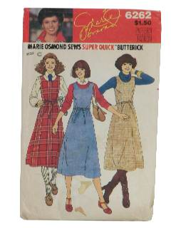 1970's Womens Designer Sewing Pattern