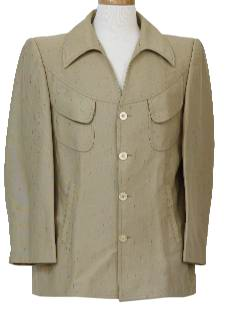 1970's Mens Mod Western Style Leisure Jacket