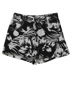 1980's Womens Totally 80s Style Shorts