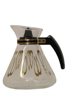 1950's Home Decor - Atomic Coffee Pot