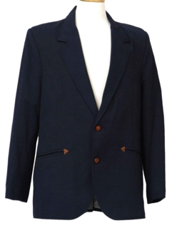 1970's Mens Western Blazer Sport Coat Jacket