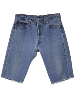 1990's Mens Wicked 90s Cut-Off Jeans Shorts
