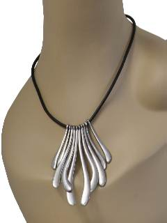 1970's Womens Accessories - Totally 80s Disco Necklace