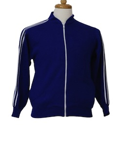 1980's Mens/Boys Track Jacket