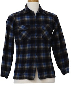 1950's Mens/Boys Wool Pendleton Shirt
