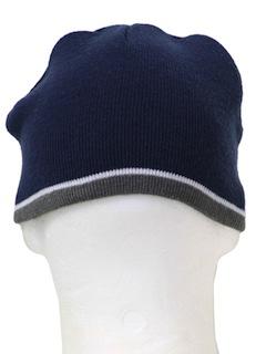 1990's Unisex Accessories - Knit Ski Hat
