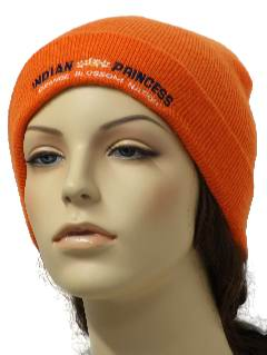 1980's Womens Accessories - Knit Ski Hat
