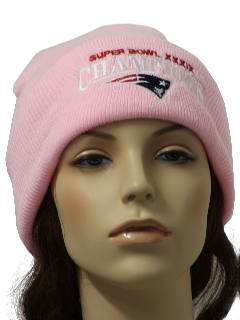 1990's Womens Knit Ski Hat