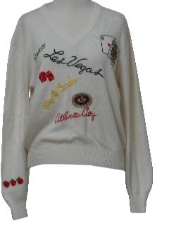 1970's Womens Kitschy Sweater