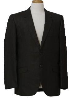 1960's Mens Mod Blazer or Sport Coat Suit Jacket