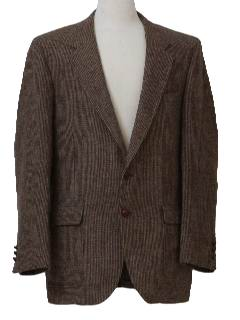 1970's Mens Wool Blazer or Sport Coat Jacket