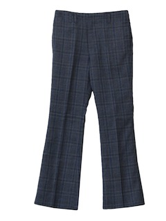 1960's Mens Flared Mod Slacks Pants