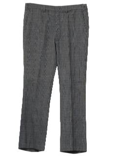 1970's Mens Wool Plaid Pants