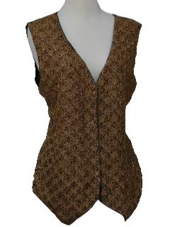1980's Womens Cocktail Vest