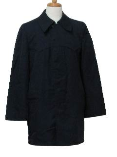 1970's Mens Overcoat Raincoat Jacket