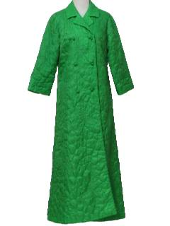 1960's Womens Designer Lounge Dress