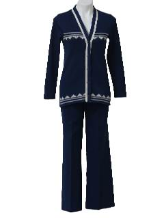 1970's Womens Leisure Suit