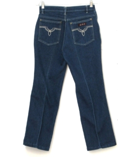 1980's Womens Totally 80s Designer Denim Jeans
