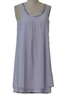 1970's Womens Lingerie Nightgown