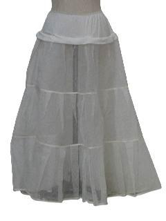 1960's Womens Lingerie Crinoline Slip