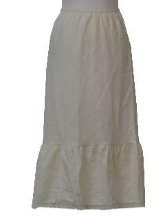 1960's Womens Lingerie - Slip