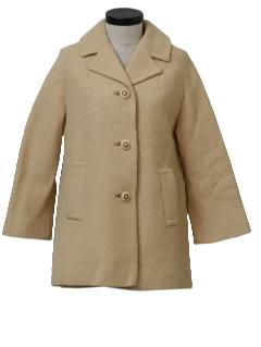 1950's Womens Mod Car Coat Jacket