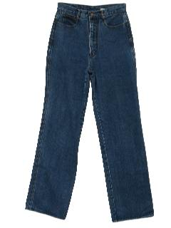 1980's Womens Totally 80s Designer Jeans Pants