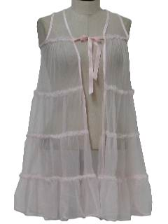 1970's Womens Lingerie Peignoir