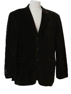 1980's Mens Velvet Blazer Style Sport Coat Jacket