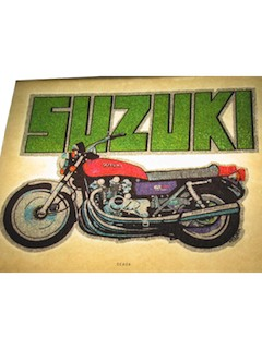 1970's Iron-Ons - Motorcycle Themes