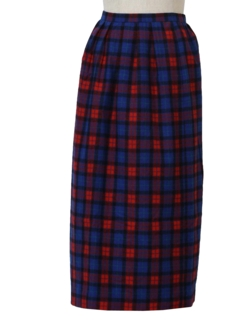 1960's Womes Wool Skirt