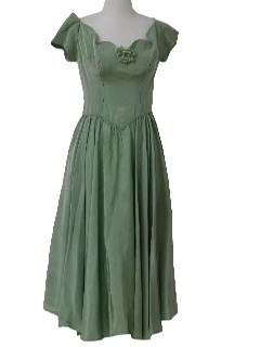 1960's Womens Prom Dress or Cocktail Dress