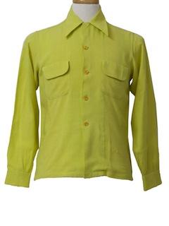 1950's Mens Sport Shirt*
