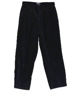 1980's Mens Pleated Pants