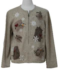 1980's Womens Ugly Christmas Sweater