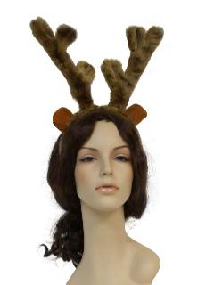 1990's Unisex Accessories - Christmas Hat / Reindeer Antlers to wear with your Ugly Christmas Sweater