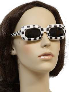 1960's Womens Accessories Mod Sunglasses