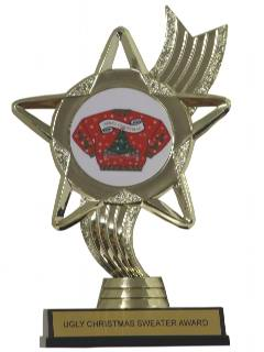 1990's Unisex Accessories - Ugly Christmas Sweater Trophy Award