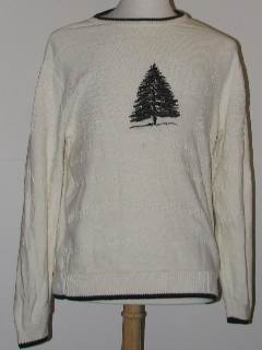 1980's Unisex Tired and Ugly Discount Flawed Ugly Christmas Sweater