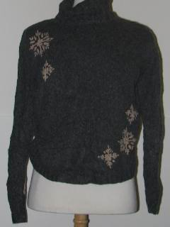 1980's Womens Tired and Ugly Discount Flawed Womens Ugly Christmas Sweater