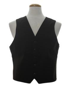 1970's Mens Disco Vest